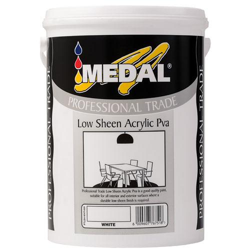 5l Low Sheen Acrylic Pva